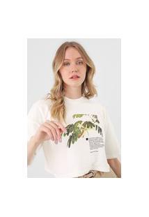 Camiseta Osklen Bio Eco Off-White