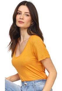 Camiseta Forum Lisa Laranja