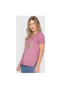 Camiseta Guess Day Dreamer Rosa