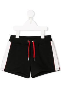 Givenchy Kids Short Com Logo - Preto