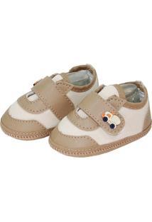 Sapato Moderno Sapatinhos Baby Caqui