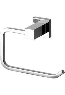 Porta Papel Higiênico Cromado Loren Quadra 2020 C84 Lorezentti