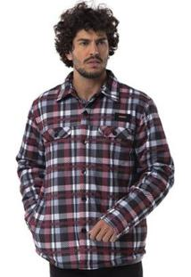 Camisa Mnaga Longa Long Island Xadrez Masculino - Masculino