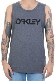Regata Oakley Mark Ii Tank - Masculino-Cinza