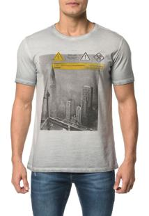 Camiseta Ckj Mc Dupla Face Laterais - Pp