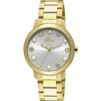 8d32c97cca94c Relógio Feminino Allora Analógico Fashion - Unissex-Dourado