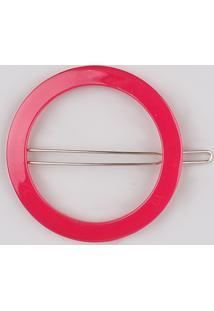 Presilha Feminina Redonda Neon Pink