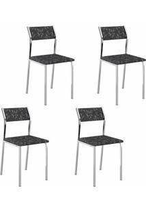 Cadeira 1709 04 Unidades - Carraro
