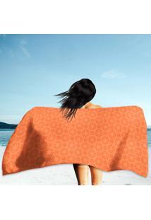 Toalha De Praia / Banho Bolas Laranjas