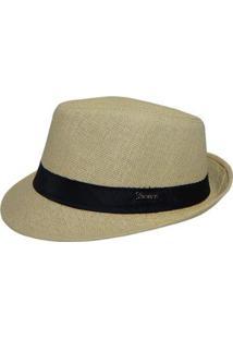 Chapéu Panamá Alma De Praia - Masculino-Bege