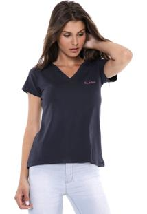 Camiseta Planet Girls Lisa Azul-Marinho