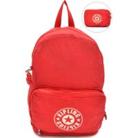 7ecf5a31d Mochila Esportiva Kipling Vermelha | Shoes4you