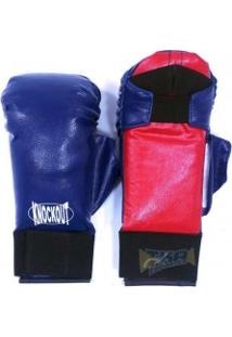 Luva Para Karate C/ Polegar Azl - Knockout