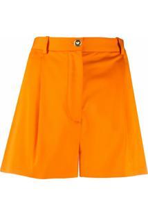Versace Short Cintura Alta - Laranja