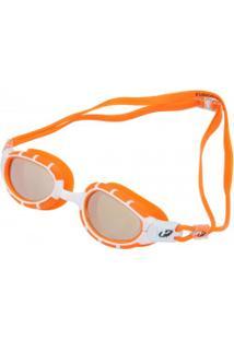 Óculos De Natação Hammerhead Fusion Mirror - Adulto - Laranja