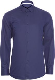 Camisa Masculina Jesse - Azul