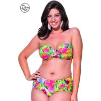 c33c1aad96 Biquíni Plus Size La Playa Tomara Que Caia Base Multicolorido