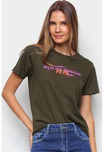 Camiseta Ellus 1972 Feminina - Feminino