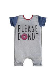 Pijama Curto Comfy Please Donut