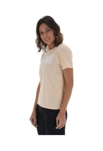 Camiseta Vans Flying V Crew - Feminina - Coral