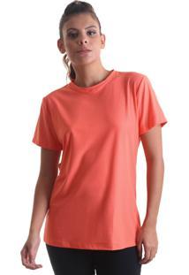 Camiseta Feminina Fresh Laranja Praaiah - Laranja - Feminino - Dafiti