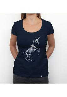 Raio-X Do Unicórnio - Camiseta Clássica Feminina