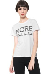 Camiseta Triton More Off-White