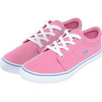 Tênis Para Meninas Lacoste Rosa infantil   Shoes4you b5ce9ccf4a