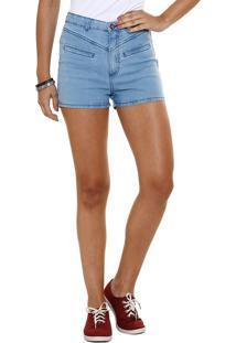 Short Feminino Hot Pants Jeans Marisa