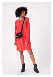 Vestido Pala Frente Tubinho Vermelho Spicy
