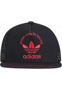 Boné Aba Reta Adidas Originals Sport 2015 - Snapback - Trucker - Adulto -  Preto  0a46cf34eee