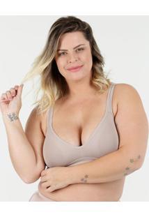 2ed7269dd Sutiã Feminino Sem Aro E Sem Bojo Plus Size Triumph