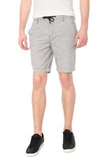 Bermuda Sarja Calvin Klein Jeans Color Chino Cinza