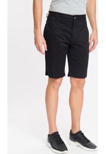 Bermuda Chino Essentials Ck - Preto - 38