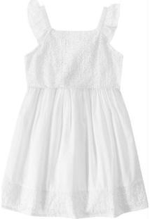 Vestido Branco Com Laíse Malwee Kids
