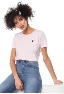 Camiseta Volcom One Of Each Rosa