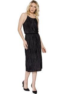 Vestido Midi Plissado Colcci - Feminino