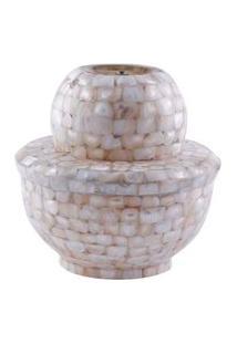 Lustre- Pashmina- Elet Lamp- Branco