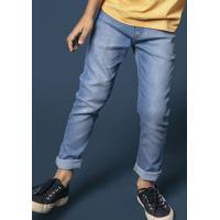 Calça Jeans Infantil Menino Com Lavação Clara Hering Kids 955703bb263