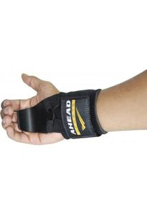 Luva Hook Straps Ahead Gancho De Ferro P/ Musculação Preto - Unissex
