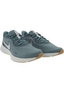 Tênis Nike Revolution 5 Esportivo Masculino Azul A
