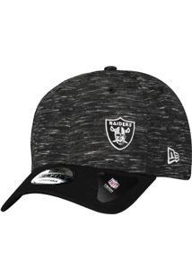 Boné New Era Nfl Oakland Raiders 940 Escudo Preto 26398d69319