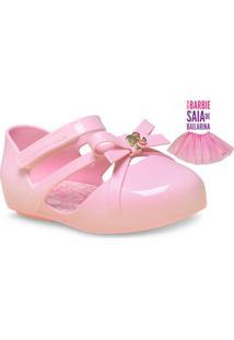 50b22d6f76 Sapatilha Fem Infantil Grendene 21471 Barbie Balletrosa Rosa