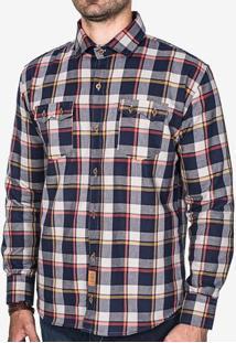 Camisa Xadrez Marinho 200335