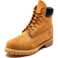 aab236dbf2 Bota Couro Timberland Yellow Boot 6In Premium Boot Wp Caramelo
