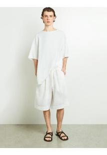Bermuda Masc Linen Washed-Offwhite - 38