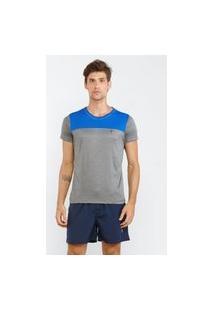 Camisa Esportiva Monochrome Chumbo