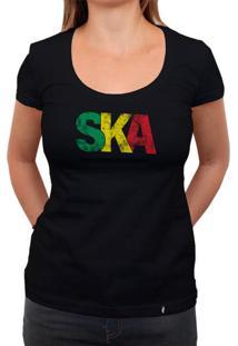 Ska - Camiseta Clássica Feminina