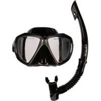 1605a7372 Kit Mergulho Máscara+Snorkel Cetus Icaro - Unissex