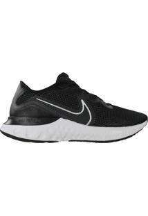 Tênis Masculino Nike Renew Run Corrida Preto/Branco - 39